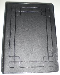 簡體字聖經軟膠皮黑色小